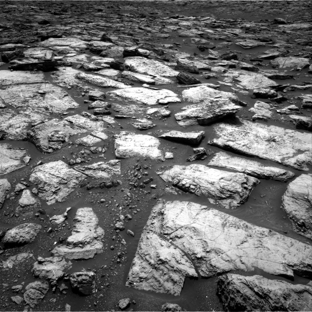Nasa's Mars rover Curiosity acquired this image using its Right Navigation Camera on Sol 1499, at drive 2088, site number 58