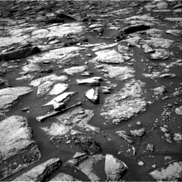 Nasa's Mars rover Curiosity acquired this image using its Right Navigation Camera on Sol 1499, at drive 2094, site number 58