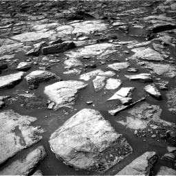 Nasa's Mars rover Curiosity acquired this image using its Right Navigation Camera on Sol 1499, at drive 2100, site number 58