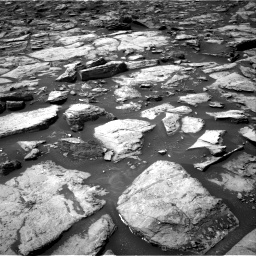 Nasa's Mars rover Curiosity acquired this image using its Right Navigation Camera on Sol 1499, at drive 2106, site number 58