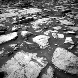 Nasa's Mars rover Curiosity acquired this image using its Right Navigation Camera on Sol 1499, at drive 2118, site number 58