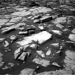 Nasa's Mars rover Curiosity acquired this image using its Right Navigation Camera on Sol 1499, at drive 2130, site number 58