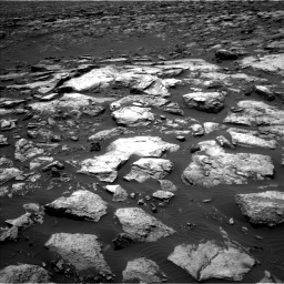 Nasa's Mars rover Curiosity acquired this image using its Left Navigation Camera on Sol 1500, at drive 2214, site number 58