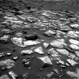 Nasa's Mars rover Curiosity acquired this image using its Left Navigation Camera on Sol 1500, at drive 2244, site number 58