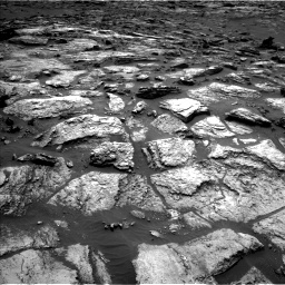 Nasa's Mars rover Curiosity acquired this image using its Left Navigation Camera on Sol 1500, at drive 2292, site number 58