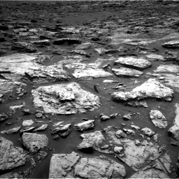 Nasa's Mars rover Curiosity acquired this image using its Left Navigation Camera on Sol 1500, at drive 2358, site number 58