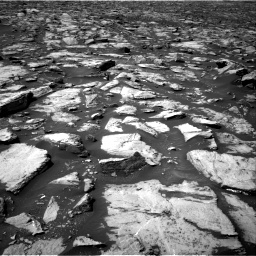 Nasa's Mars rover Curiosity acquired this image using its Right Navigation Camera on Sol 1500, at drive 2142, site number 58