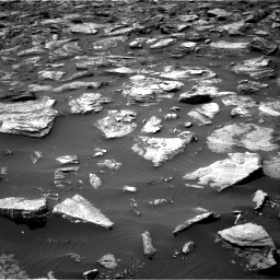 Nasa's Mars rover Curiosity acquired this image using its Right Navigation Camera on Sol 1500, at drive 2172, site number 58