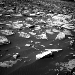 Nasa's Mars rover Curiosity acquired this image using its Right Navigation Camera on Sol 1500, at drive 2214, site number 58