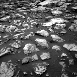 Nasa's Mars rover Curiosity acquired this image using its Right Navigation Camera on Sol 1500, at drive 2220, site number 58
