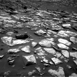 Nasa's Mars rover Curiosity acquired this image using its Right Navigation Camera on Sol 1500, at drive 2244, site number 58