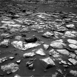 Nasa's Mars rover Curiosity acquired this image using its Right Navigation Camera on Sol 1500, at drive 2250, site number 58