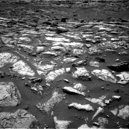 Nasa's Mars rover Curiosity acquired this image using its Right Navigation Camera on Sol 1500, at drive 2262, site number 58