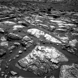 Nasa's Mars rover Curiosity acquired this image using its Right Navigation Camera on Sol 1500, at drive 2274, site number 58