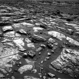 Nasa's Mars rover Curiosity acquired this image using its Right Navigation Camera on Sol 1500, at drive 2280, site number 58