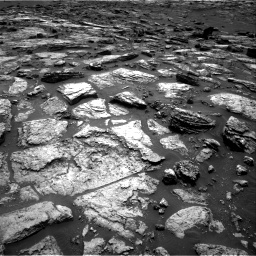 Nasa's Mars rover Curiosity acquired this image using its Right Navigation Camera on Sol 1500, at drive 2286, site number 58