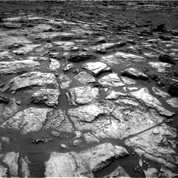 Nasa's Mars rover Curiosity acquired this image using its Right Navigation Camera on Sol 1500, at drive 2292, site number 58