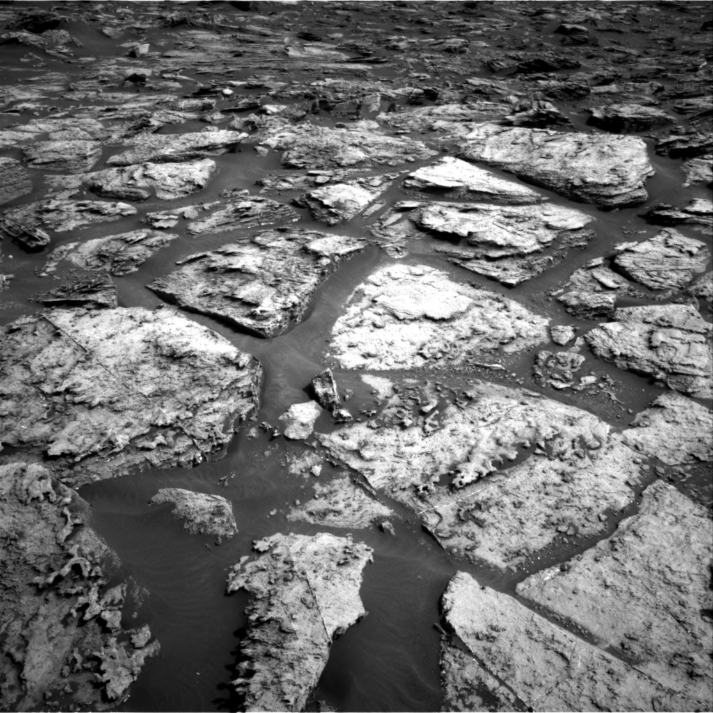 Nasa's Mars rover Curiosity acquired this image using its Right Navigation Camera on Sol 1500, at drive 2340, site number 58