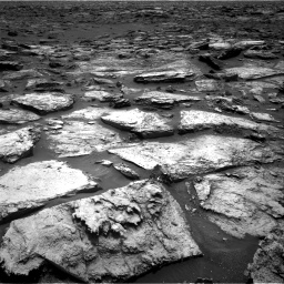 Nasa's Mars rover Curiosity acquired this image using its Right Navigation Camera on Sol 1500, at drive 2346, site number 58