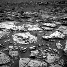 Nasa's Mars rover Curiosity acquired this image using its Right Navigation Camera on Sol 1500, at drive 2364, site number 58