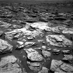 Nasa's Mars rover Curiosity acquired this image using its Right Navigation Camera on Sol 1500, at drive 2370, site number 58