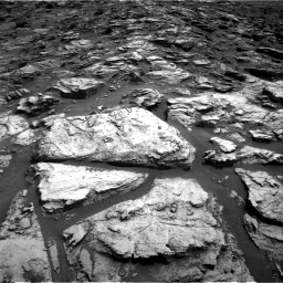 Nasa's Mars rover Curiosity acquired this image using its Right Navigation Camera on Sol 1500, at drive 2382, site number 58