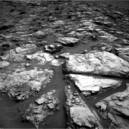 Nasa's Mars rover Curiosity acquired this image using its Right Navigation Camera on Sol 1500, at drive 2388, site number 58