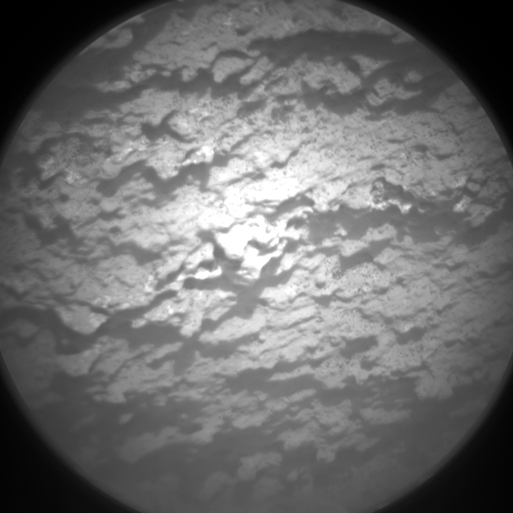 Nasa's Mars rover Curiosity acquired this image using its Chemistry & Camera (ChemCam) on Sol 1501, at drive 2394, site number 58