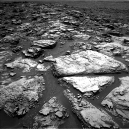 Nasa's Mars rover Curiosity acquired this image using its Left Navigation Camera on Sol 1501, at drive 2406, site number 58