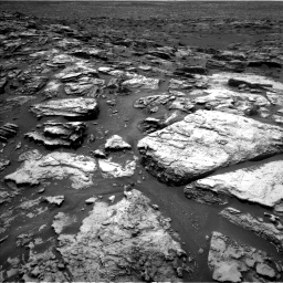 Nasa's Mars rover Curiosity acquired this image using its Left Navigation Camera on Sol 1501, at drive 2418, site number 58