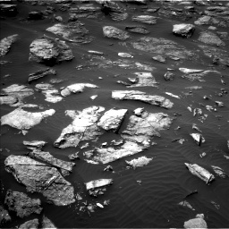 Nasa's Mars rover Curiosity acquired this image using its Left Navigation Camera on Sol 1501, at drive 2646, site number 58