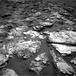 Nasa's Mars rover Curiosity acquired this image using its Right Navigation Camera on Sol 1501, at drive 2400, site number 58