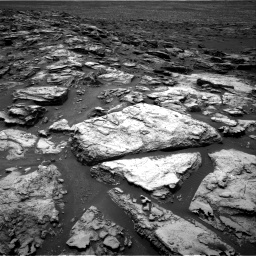 Nasa's Mars rover Curiosity acquired this image using its Right Navigation Camera on Sol 1501, at drive 2412, site number 58