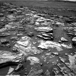 Nasa's Mars rover Curiosity acquired this image using its Right Navigation Camera on Sol 1501, at drive 2430, site number 58
