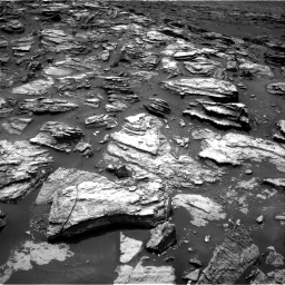 Nasa's Mars rover Curiosity acquired this image using its Right Navigation Camera on Sol 1501, at drive 2436, site number 58