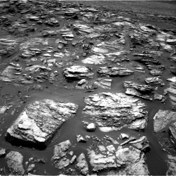 Nasa's Mars rover Curiosity acquired this image using its Right Navigation Camera on Sol 1501, at drive 2448, site number 58
