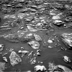 Nasa's Mars rover Curiosity acquired this image using its Right Navigation Camera on Sol 1501, at drive 2478, site number 58