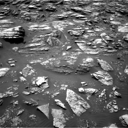 Nasa's Mars rover Curiosity acquired this image using its Right Navigation Camera on Sol 1501, at drive 2484, site number 58