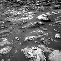 Nasa's Mars rover Curiosity acquired this image using its Right Navigation Camera on Sol 1501, at drive 2502, site number 58