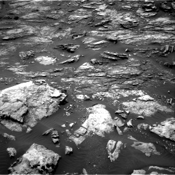 Nasa's Mars rover Curiosity acquired this image using its Right Navigation Camera on Sol 1501, at drive 2514, site number 58