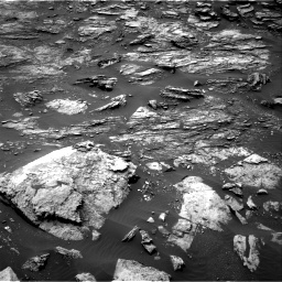 Nasa's Mars rover Curiosity acquired this image using its Right Navigation Camera on Sol 1501, at drive 2532, site number 58