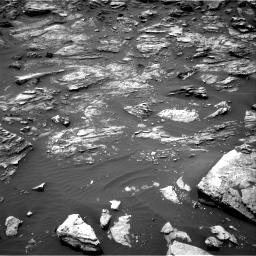 Nasa's Mars rover Curiosity acquired this image using its Right Navigation Camera on Sol 1501, at drive 2544, site number 58