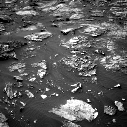 Nasa's Mars rover Curiosity acquired this image using its Right Navigation Camera on Sol 1501, at drive 2556, site number 58