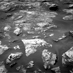 Nasa's Mars rover Curiosity acquired this image using its Right Navigation Camera on Sol 1501, at drive 2604, site number 58