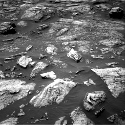 Nasa's Mars rover Curiosity acquired this image using its Right Navigation Camera on Sol 1501, at drive 2610, site number 58