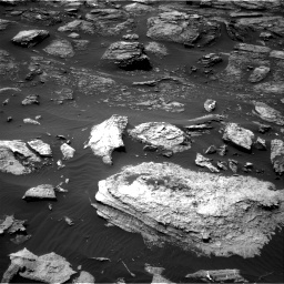 Nasa's Mars rover Curiosity acquired this image using its Right Navigation Camera on Sol 1501, at drive 2628, site number 58
