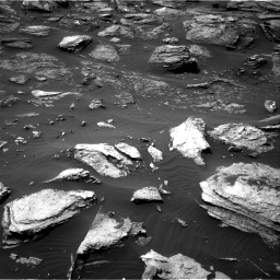 Nasa's Mars rover Curiosity acquired this image using its Right Navigation Camera on Sol 1501, at drive 2634, site number 58