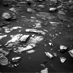 Nasa's Mars rover Curiosity acquired this image using its Right Navigation Camera on Sol 1501, at drive 2646, site number 58