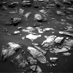 Nasa's Mars rover Curiosity acquired this image using its Right Navigation Camera on Sol 1501, at drive 2658, site number 58