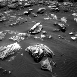 Nasa's Mars rover Curiosity acquired this image using its Right Navigation Camera on Sol 1501, at drive 2676, site number 58